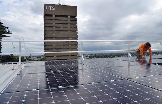 UTS-solar-panels
